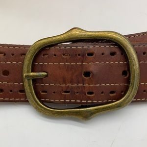 Gap Brown Leather Belt - Size Small